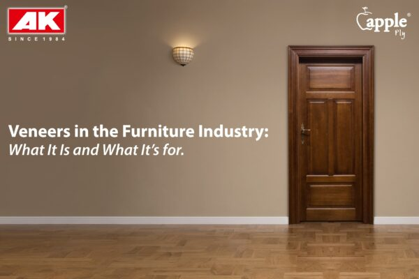 Veneers in the Furniture Industry 一 What It Is and What It's for